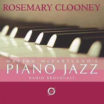 Rosemary Clooney - Marian Mcpartland's Piano Jazz med Rosemary Cloon [CD] USA import