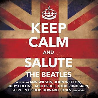 Keep Calm and Salute the Beatles - Keep Calm and Salute the Beatles [CD] USA import