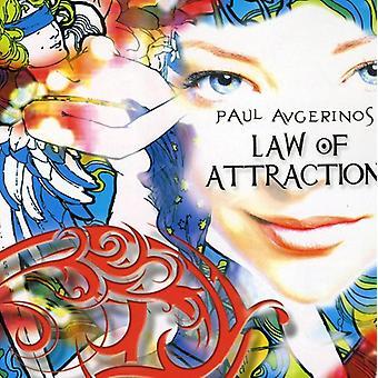 Paul Avgerinos - loven om tiltrækning [CD] USA import