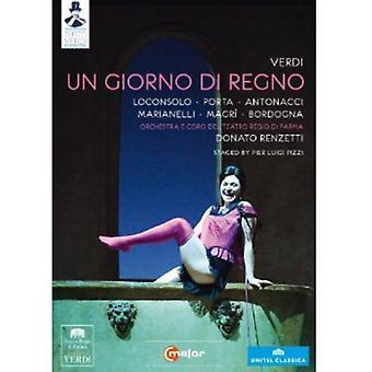 G. Verdi - Un Giorno Di Regno [DVD] USA import
