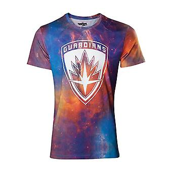 Værger Vol. 2 All-Over Galaxy ekstra T-Shirt-flerfarvede XXL størrelse