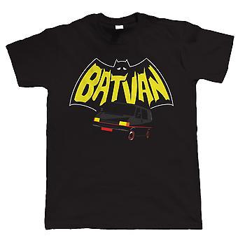 Batvan, Mens Funny Camper Van T Shirt
