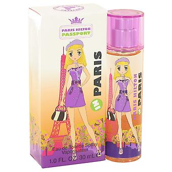 Paris Hilton Women Paris Hilton Passport In Paris Eau De Toilette Spray By Paris Hilton