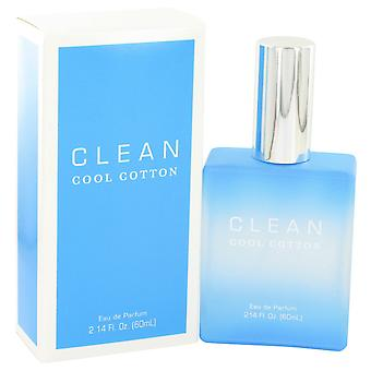 Clean Women Clean Cool Cotton Eau De Parfum Spray By Clean
