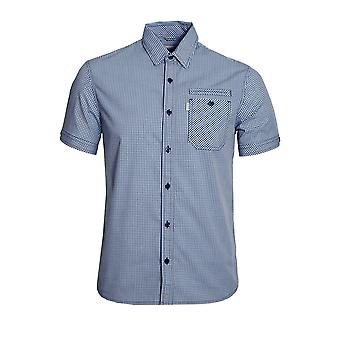 883 POLICE 883 POLICE ORA SHORT SLEEVE GINGHAM SHIRT