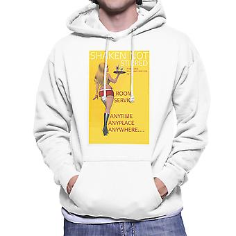 Geschüttelt nicht gerührt Sexy Zimmerservice Mädchen Herren Sweatshirt mit Kapuze