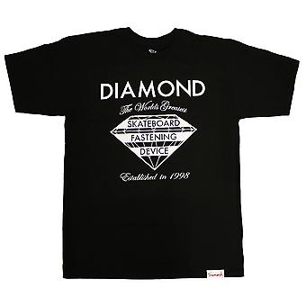 Diamond Supply Co Fastening Device T-Shirt Black