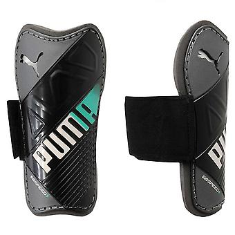 PUMA Evospeed 5.3 shinguard [black/white/green]