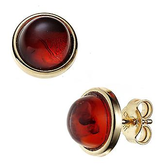Amber earrings 375 Gold Yellow Gold 2 amber earrings gold amber jewellery