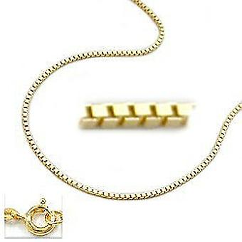 Golden Venetian necklace, 45 cm, Venetian chain, 9 KT GOLD 375