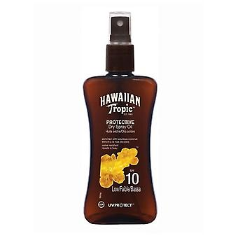 Hawaiian Tropic Ht Protective Dry Oil Spray SPF 10