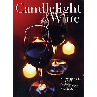 Glendon Smith & Richard Evan - Candlelight & vin [CD] USA importerer