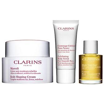 Clarins Body Shaping Cream 200 Ml + 2 Pieces (Beauty , Body  , Moisturizers)