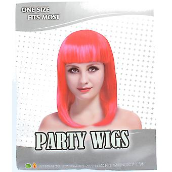 One Size Fits Most Bob Wig Fancy Dress Accessory