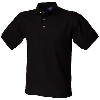Henbury Mens Ultimate 65/35 Polo Shirt