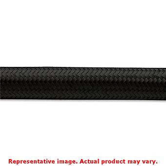 Vibrant Braided Flex Hose 11966 Black -6AN Fits:UNIVERSAL 0 - 0 NON APPLICATION