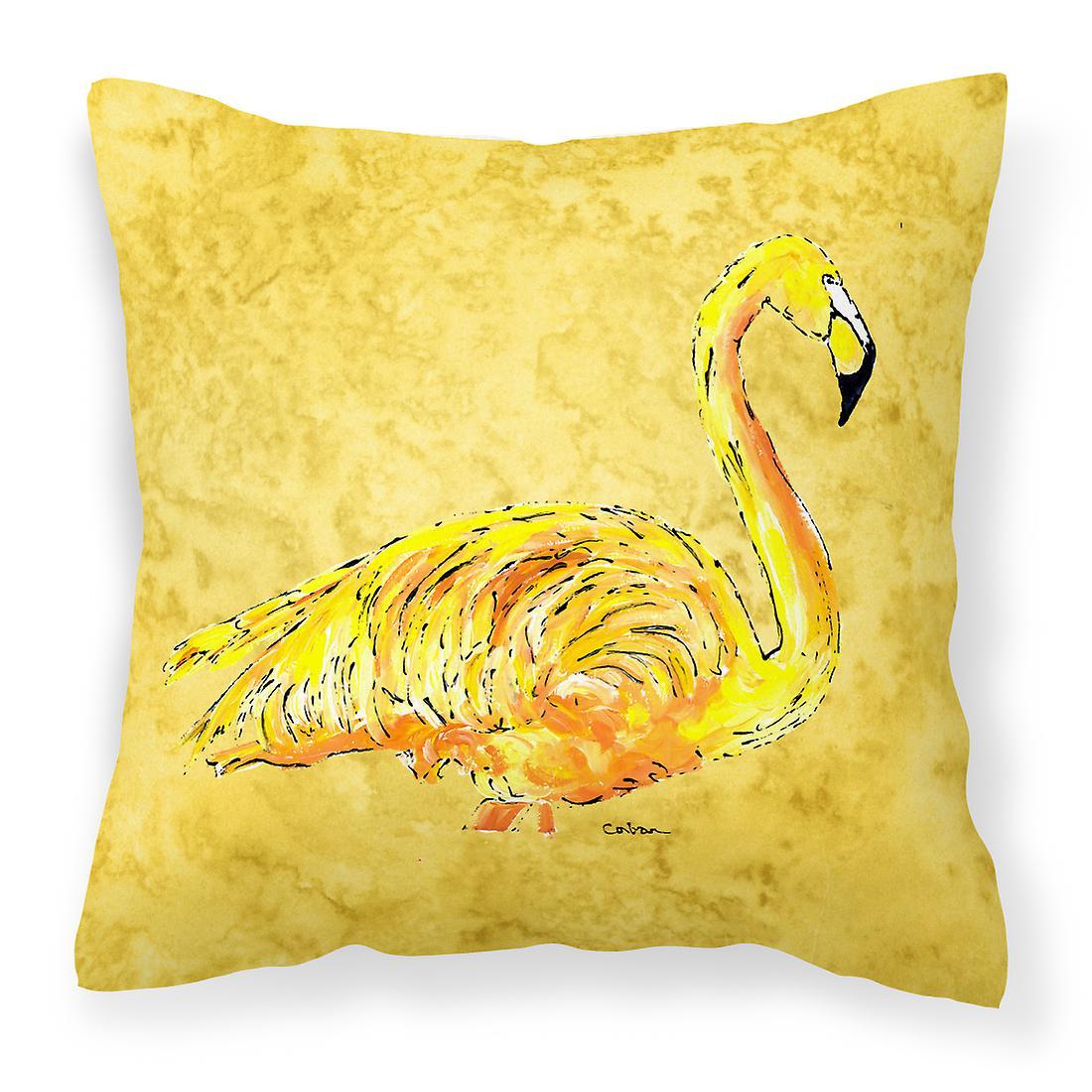 Sur Décoratif Carolines Flamingo Jaune Tissu Trésors Toile 8872pw1414 Pi 3j54qLRcAS