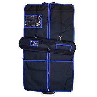 Armario falda y rodillo de la falda escocesa (Trim azul)
