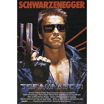 The Terminator One Sheet Poster Poster Print