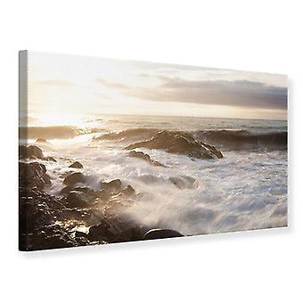 Canvas Print Meer Surfen