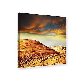 Canvas Print The Desert