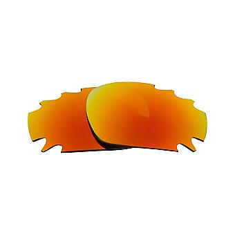 Best SEEK Replacement Lenses - Oakley VENTED RACING JACKET Brown Yellow