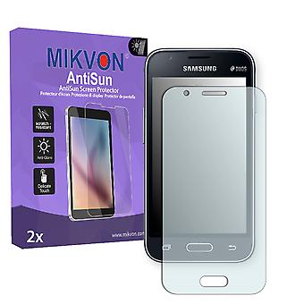 Samsung Galaxy J1 mini (SM-J105H/DS) Screen Protector - Mikvon AntiSun (Retail Package with accessories)
