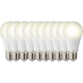LED E27 arbitraria 9.5 W = 60 W Warm white (Ø x L) 60 mm x 119 mm EEC: a + Sygonix 10 PC
