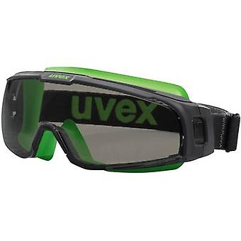 Safety glasses Uvex u-sonic 9308240 Black, Green
