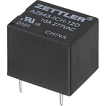 PCB relays 6 Vdc 15 A 1 change-over Zettler Electronics