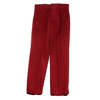 Aspesi ladies G0108C80085304 red cotton pants