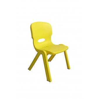 Yellow child's Chair for indoor outdoor plastic plastic chair children Chair