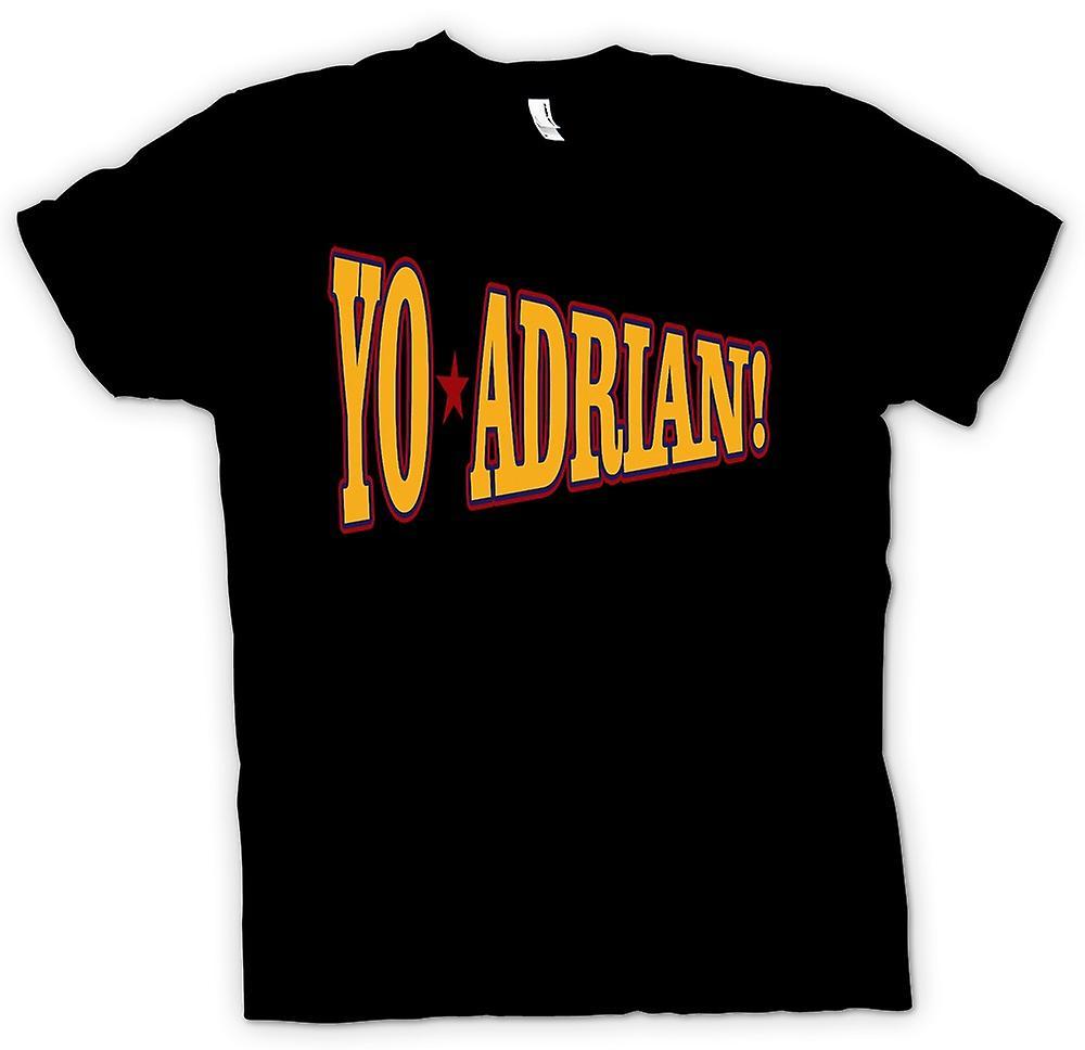 Womens T-shirt-Rocky Balboa Yo Adrian - Funny