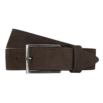 BALDESSARINI belt leather belts men's belts Brown 4675