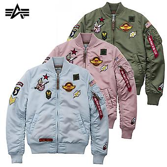 Alpha industries ladies giacca MA-1 VF patch Wmn