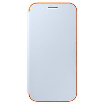 Samsung Neon Flip Cover EF-FA520PL für A520F Galaxy A5 2017 Schutzhülle Blau