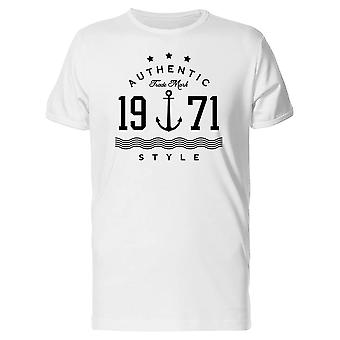 Authentic Sailor Trademark Style Tee Men's -Image by Shutterstock