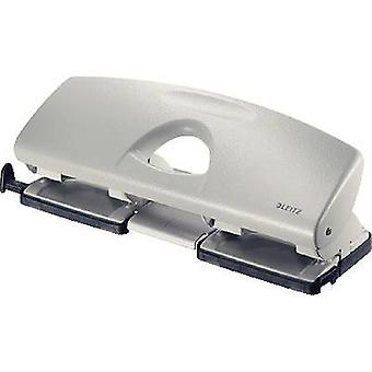 Leitz Multi-hole punch 5022-00-85 No. of sheets (max.):40 sheets (80 g/m²) No. of punches:4 Grey 1 pc(s)