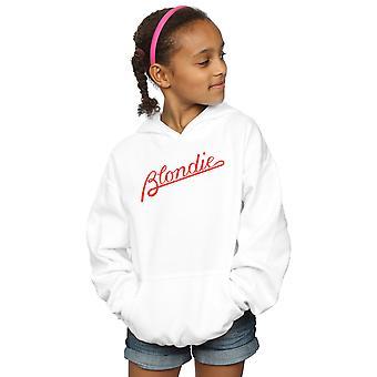 Blondie Girls Lines Logo Hoodie