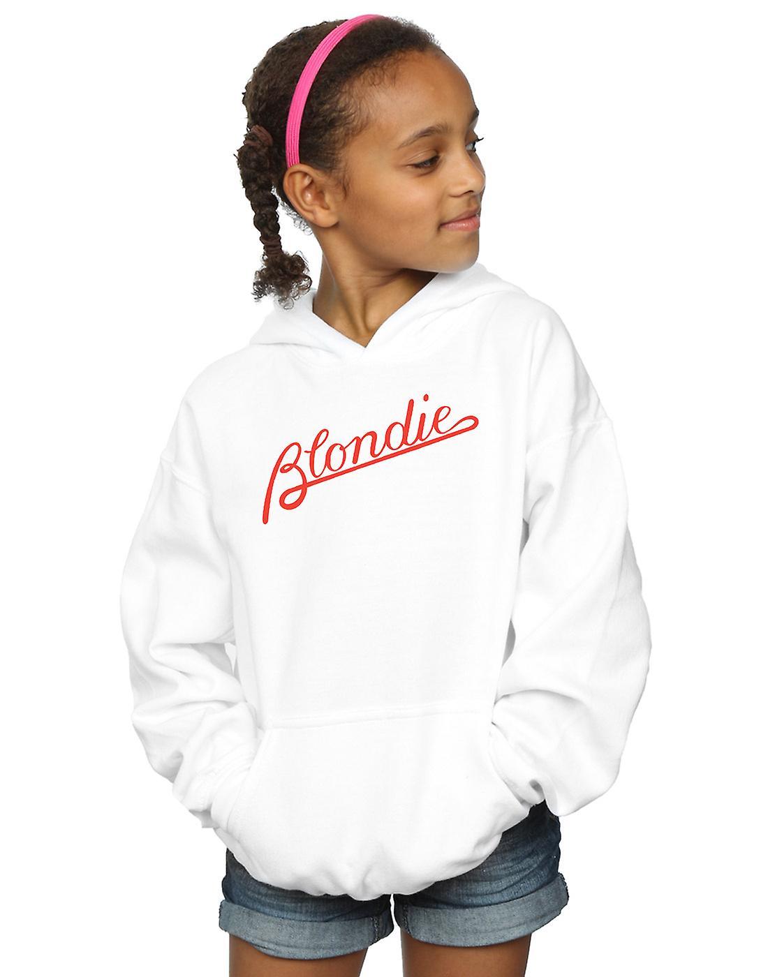 Blondie filles lignes Logo Hoodie