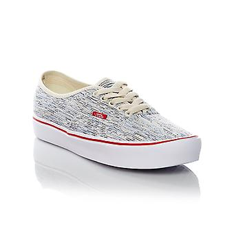 Vans Turtledove-White Authentic Lite Womens Low Top Shoe