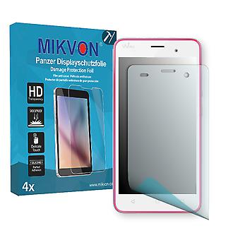 Wiko Jerry Screen Protector - Mikvon Armor Screen Protector (Retail Package with accessories)