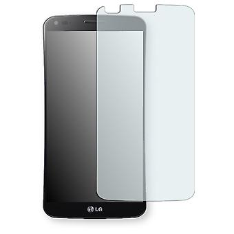 LG F340L G Flex display protector - Golebo crystal-clear protector (deliberately smaller than the display, as this is arched)