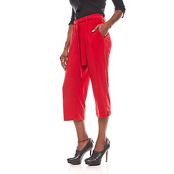 B.C.. best connections Marlene shorts red Palazzo pants