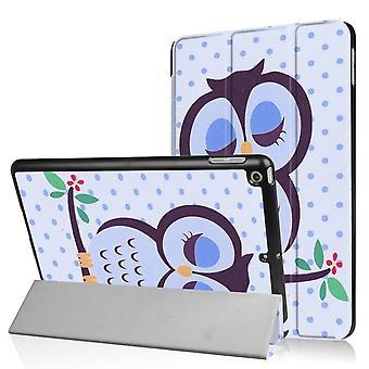 iPad 9,7 «(2017) Slim fit tri-fold manchon-sieste Owl