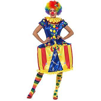 Donne costumi Caroussel Clown vestire con luci
