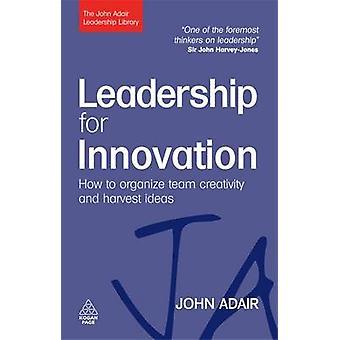 Ledarskap för Innovation - hur att organisera Team kreativitet och markberedning