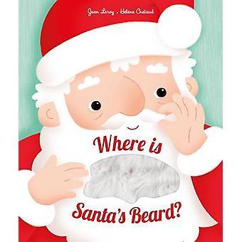Vart är Tomtens skägg? -En nyhet Lift-the-Flap bok av Jean Leroy-
