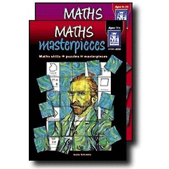 Maths Masterpieces - Maths Skills + Puzzles = Art Masterpieces - Middle