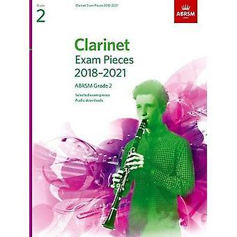 Klarinett examen bitar 2018-2021 - ABRSM Grade 2 - utvalda från 201